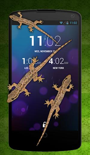蜥蜴在手机