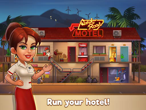 Doorman Story: Hotel team tycoon modavailable screenshots 8