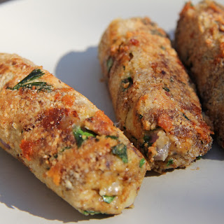 Cheese Vegetarian Sausages