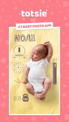 Totsie – Baby Photo Editor Android App Screenshot