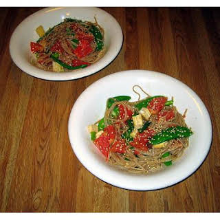 Noodles With Spicy Peanut Sauce -Ww.