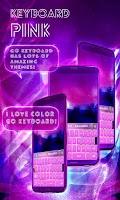 Screenshot of Pink Keyboard Stickers