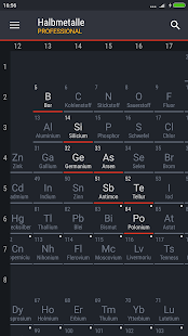 Periodic table 2018 pro v0137 patched apk paid latest periodensystem 2018 pro screenshot urtaz Gallery