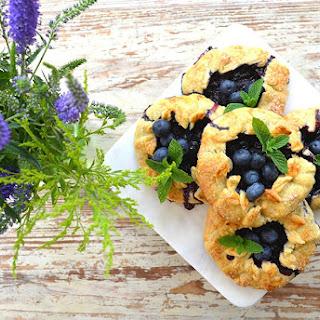 Organic Blueberry Mini-Galette Crust
