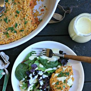 Gluten Free Salmon Cake Casserole Recipe