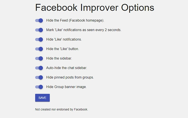 Improve your Facebook (by Lapzor)