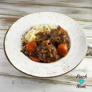 Syn Free Jamaican Oxtail Stew.