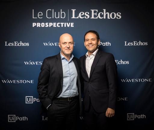 Club Les Echos Prospective avec Cédric O - Pierre Louette, Les Echos - Le Parisien
