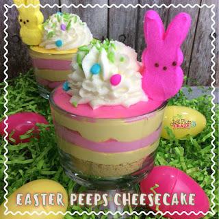Peep Cheesecake.