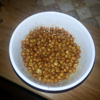 Actifry Chickpeas.