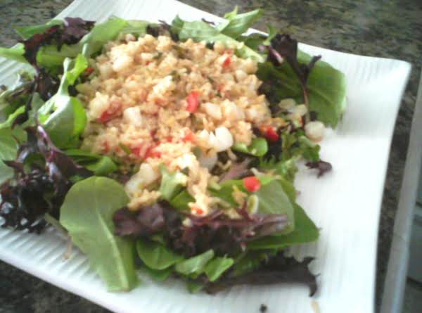 Warm Scallop Rice Salad From Ww