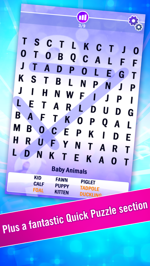 World's Biggest Wordsearch- screenshot