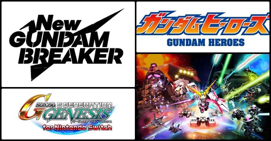 [Gundam] รวมมิตรกันดั้มเกม in 2018!