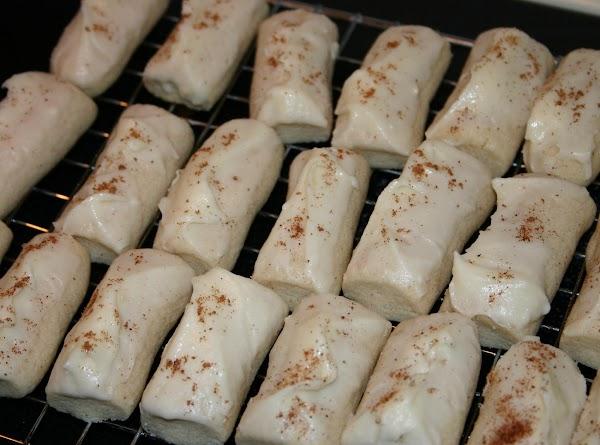 Nutmeg Logs (tom & Jerry Cookies) Recipe