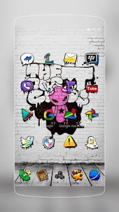 Graffiti Wall Backgrounds- screenshot thumbnail