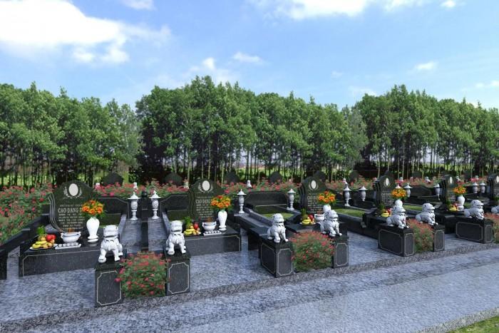 Để người thân hưởng trọn an yên khi nằm với công viên Vĩnh Hằng Long Thành