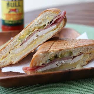 Rotisserie Chicken Cuban Sandwiches.