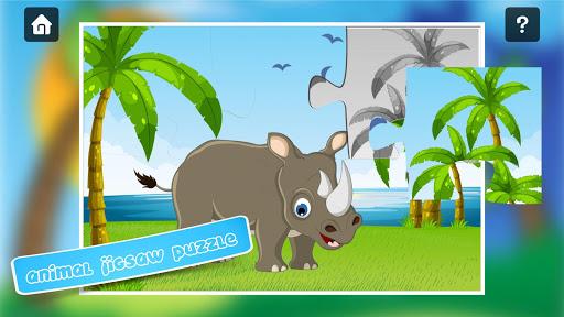 玩免費教育APP|下載动物拼图为孩子们 app不用錢|硬是要APP