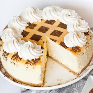 Tiramisu Cheesecake.
