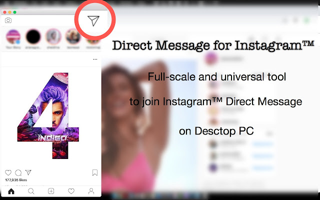 Direct Message for Instagram™