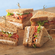 Turkey, Bacon & Swiss Sandwich. Served with a Side