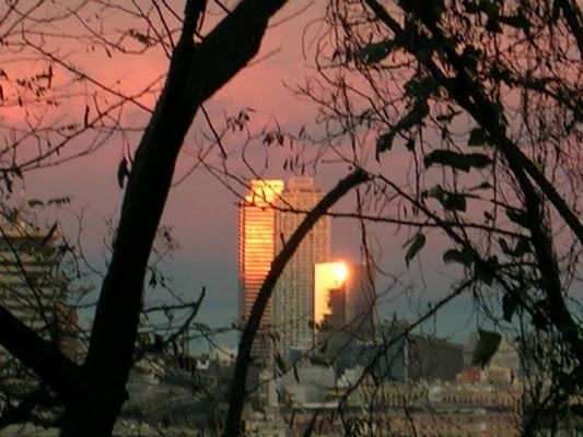 Barcellona: tramonto di fuoco! di Robyme65