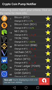 Crypto Coin Pump Notifier- screenshot thumbnail