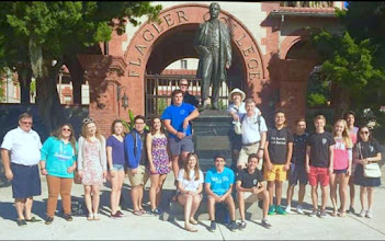 Photo: District 6970 Rotary Exchange Students and Rotarians at Flagler College in St. Augustine - October 2015 - Website: www.ryeflorida.org