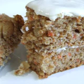 Gluten Free Carrot Cake Muffins.