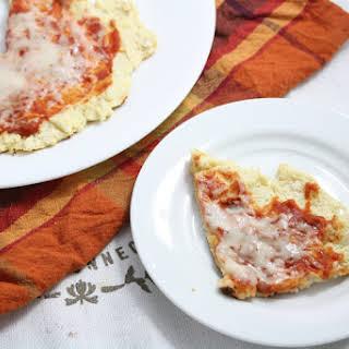 Coconut Flour Pan Pizza.