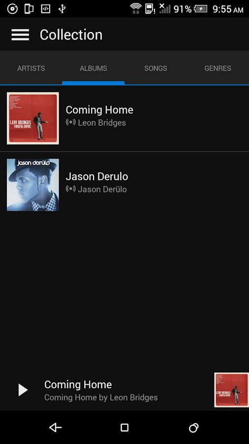 Microsoft Groove- screenshot