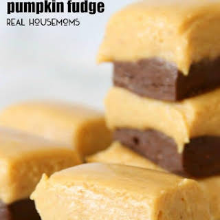 Chocolate Pumpkin Fudge.