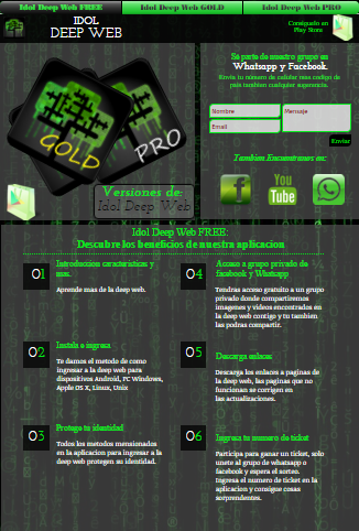Download Idol Deep Web PRO+ APK 1 3 - Only in DownloadAtoZ