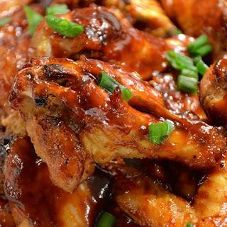 Slow Cooker Tamarind and Orange-Glazed Chicken Wings
