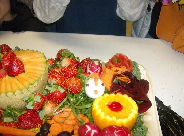 Garnishes For Fruits & Veggies Part #Recipe 2