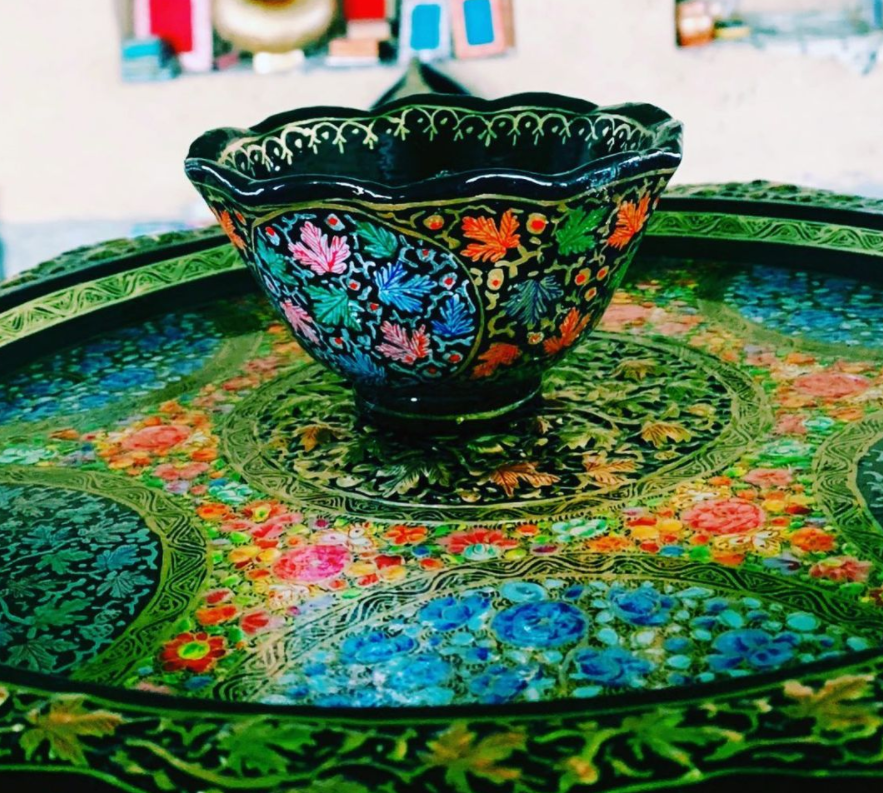 really intricate design bowl