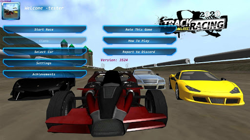 TrackRacing Online screenshots 1