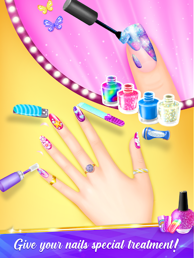 Nail Salon Manicure - Fashion Girl Game screenshots 2
