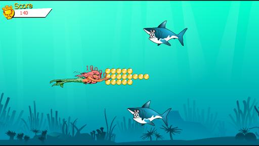 美人鱼鲨鱼袭击