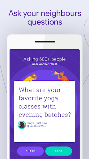 Neighbourly: Ask Local Questions & Get Answers 1.0.21 screenshots 1