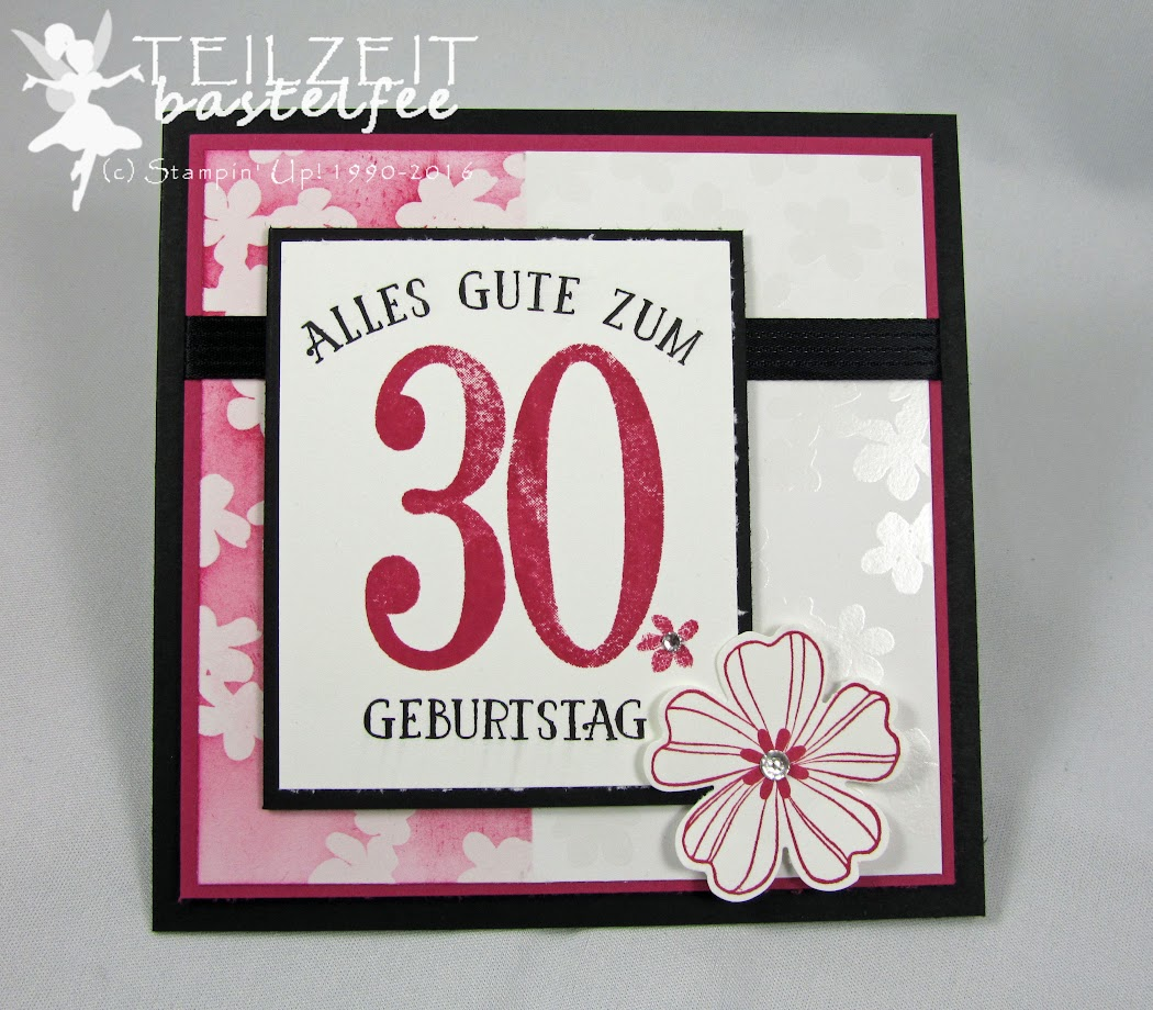 Stampin' Up! – In{k}spire_me #276, Birthday, Geburtstag, So viele Jahre, Number of Years, Flower Shop, Sketch Challenge