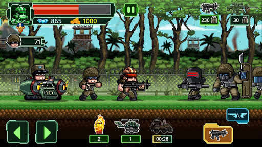 Télécharger Code Triche Metal Guns Fury : beat em up MOD APK 1