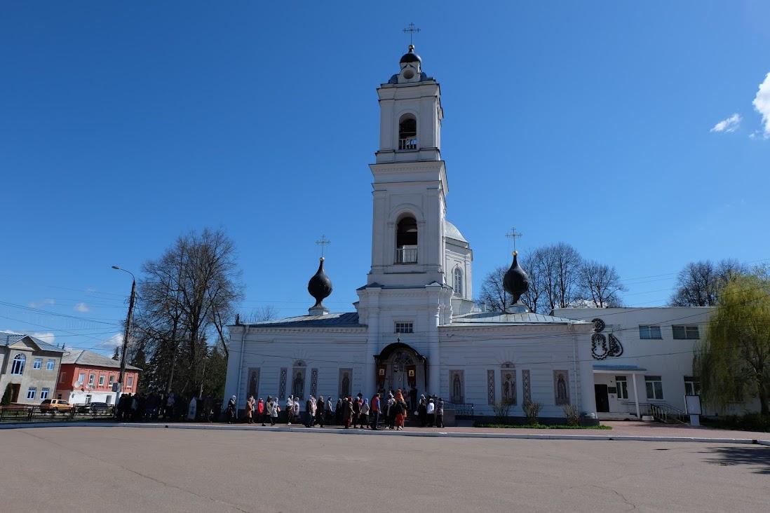 Таруса - Поленово, три дня в мае 2021