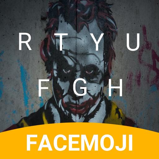 Dark Joker Emoji Keyboard Theme for samsung