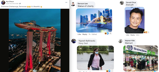 American says Marina Bay Sands is in Tennessee, and the memes flood in from S'poreans