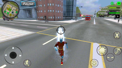 Snow Storm Superhero apktram screenshots 14
