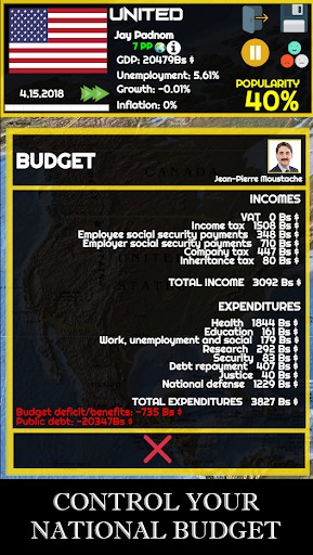 Nation Simulator LITE 1.954 screenshots 1