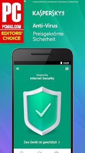 Kaspersky Sicherheit: Antivirus und Handy Schutz Screenshot