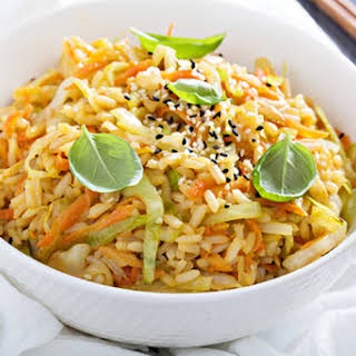 Fried Rice with Cabbage.