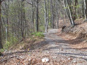 Photo: Strada , poi sentiero per il Casale